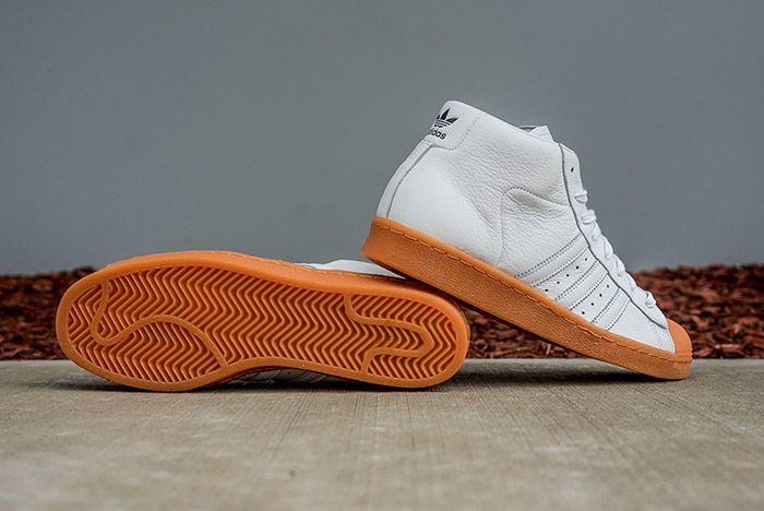 Adidas Pro Model 80 S Dlx White Gum 2