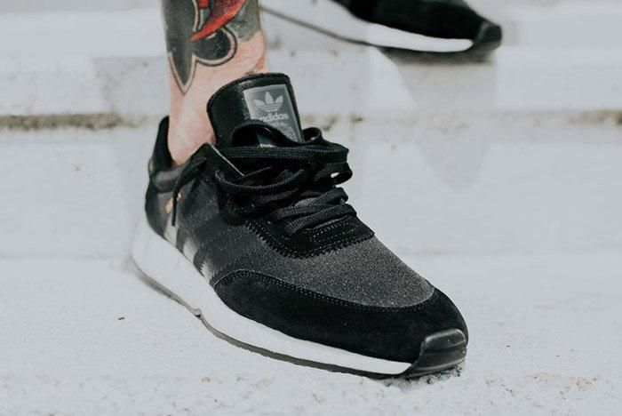 Adidas Iniki Runner Boost Core Black 4 1