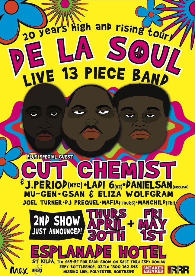 De La Soul Aussie Tour 4