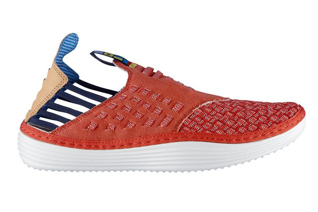Nike Solarsoft Moccasin Qs Nautical Flag Red