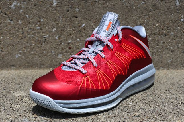 Nike Lebron Low University Red 2013 1