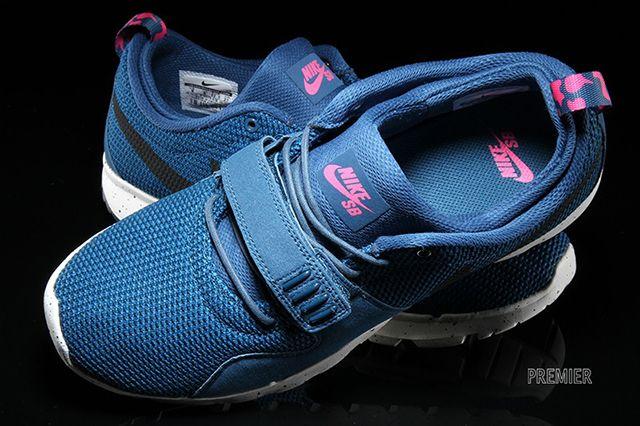Nike Sb Trainerendor Bluepink 3