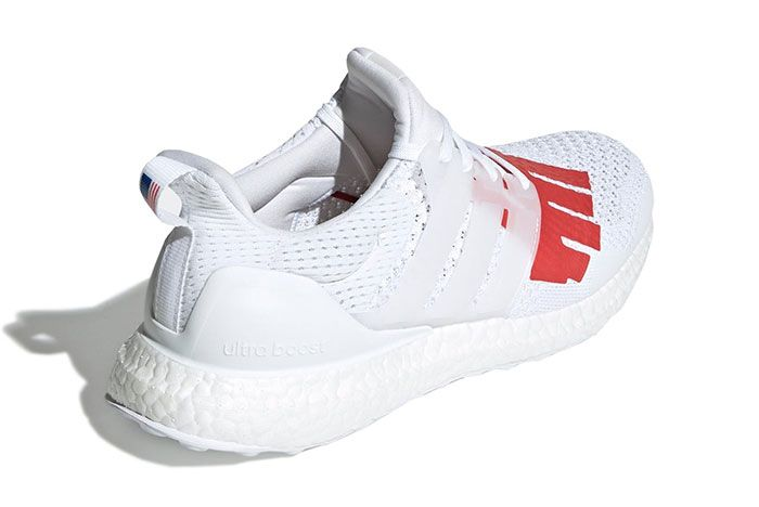 Undefeated X Adidas Ultraboost Stars And Stripes 8 Angle