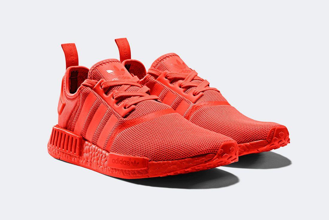 Adidas Nmd R1 Triple Red 1