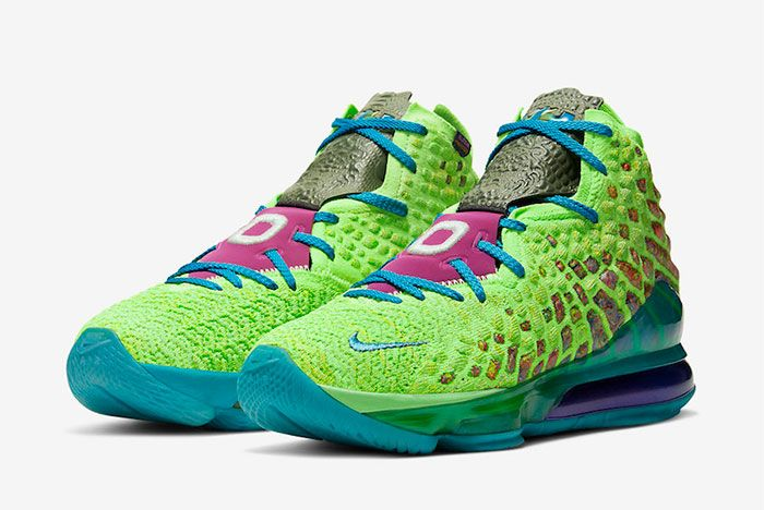 Nike Lebron 17 Mr Swackhammer Toe