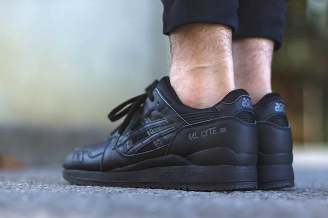 Asics Gel Lyte Iii Triple Black 1