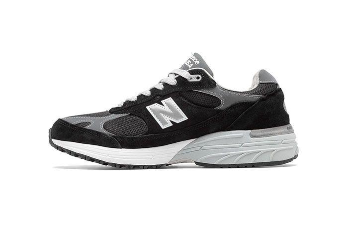 New Balance 993 Black Medial