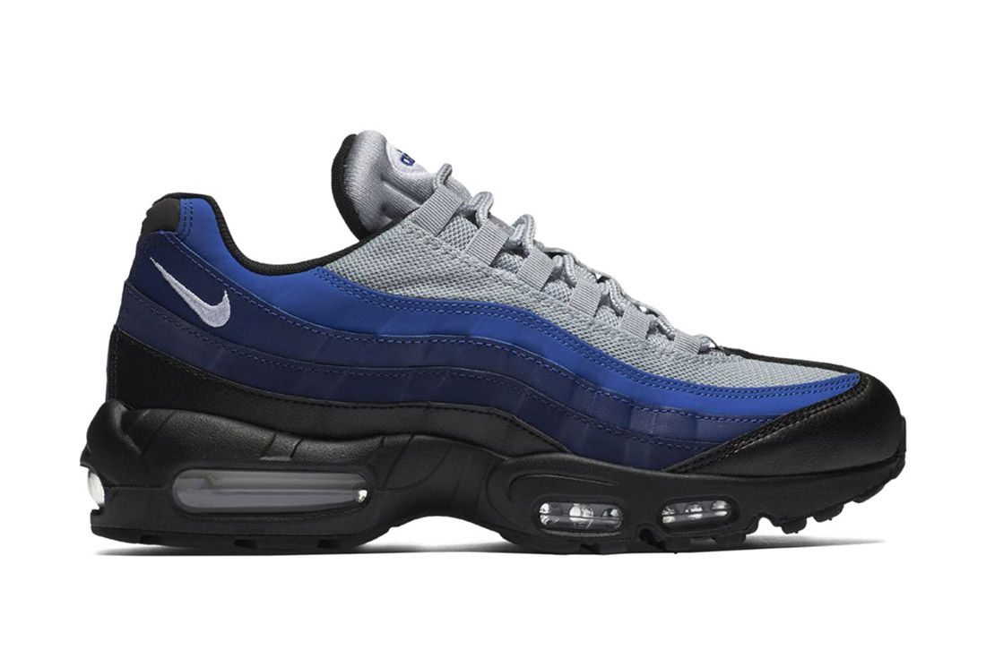 Bike Air Max 95 Essential Black Binary Blue Royal 5