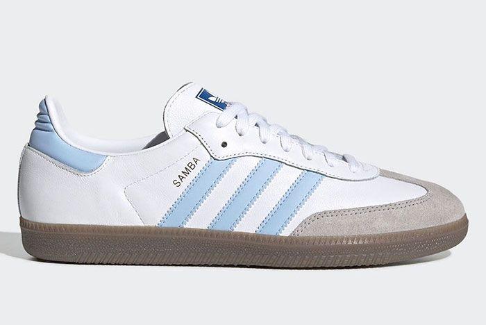 Adidas Samba Blue White Right 2