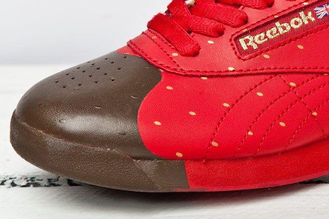 Reebok F S Hi Valentine Red Gold 4 1