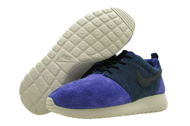 Nike Wmns Roshe Leather Pair Black Obsidian Sandtrap 1