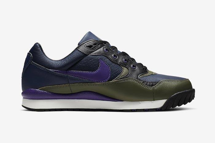 Nike Acg Wildwood Court Purple Midnight Navy Medial