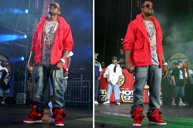 Kanye West Sneaker Style Ato Matsumoto Cow Hide Boot