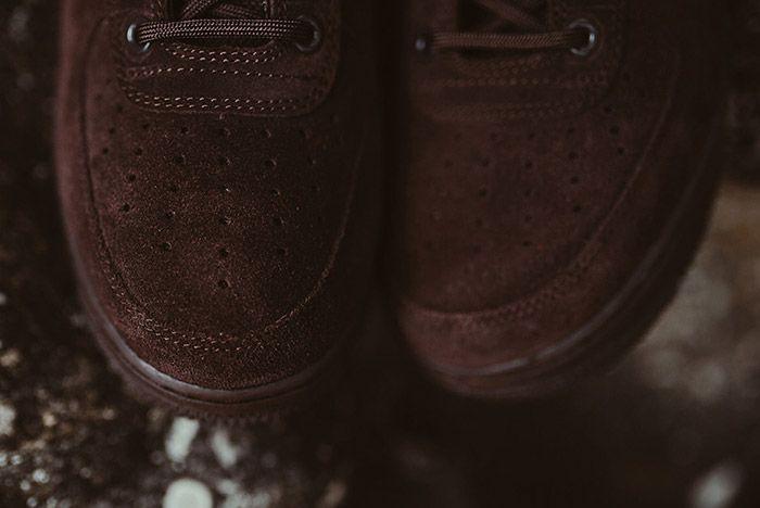 Nike Sf Air Force 1 Mid Brown 2