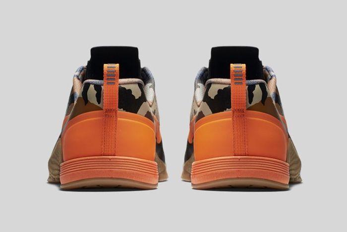 Nike Metcon 1 Black Total Orange Baroque Brown 2