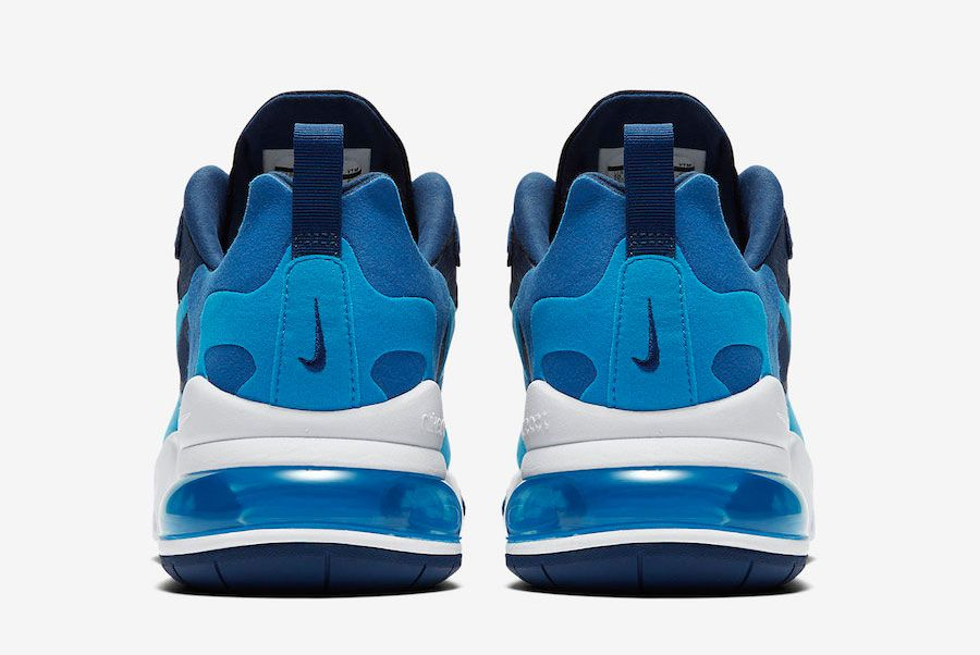 Nike Air Max 270 React Blue Void Ao4971 400 Heels