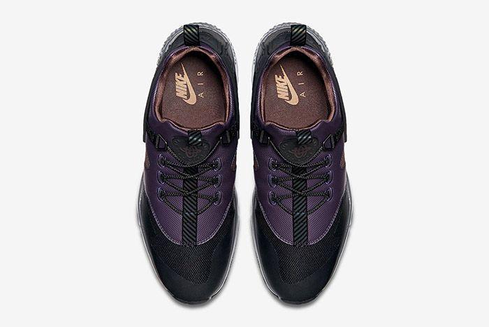 Nike Air Huarache Utility Black Purple Brown 2