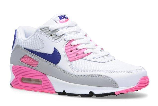Nike Air Max 90 Womens Pink Glow Angle