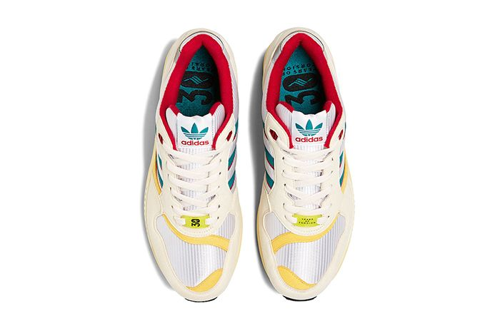 Adidas Zx 6000 Creme Red Yellow Fu8405 Release Date Top Down