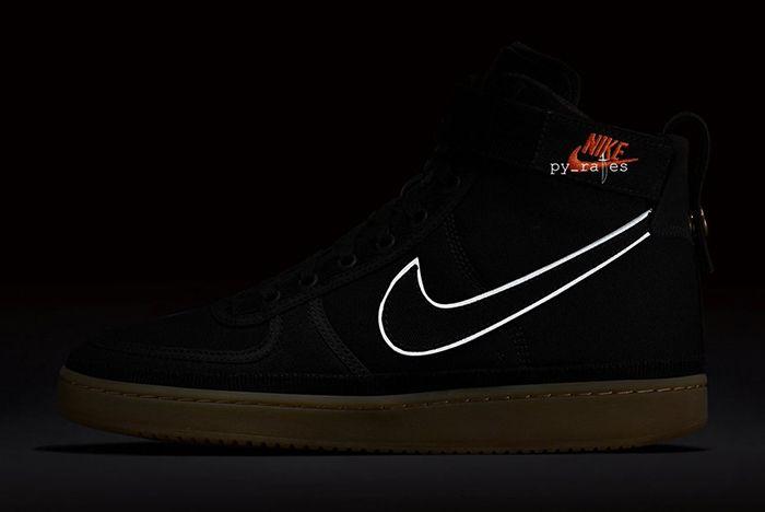 Carhartt Wip Nike Vandal High Supreme Black Gum Light Brown 3