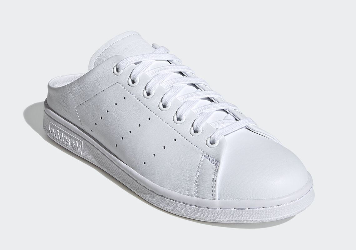 adidas Stan Smith Mule Cloud White Angled