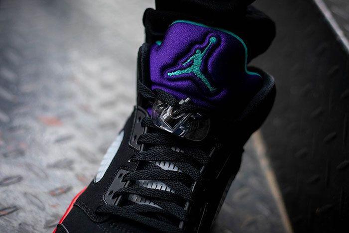 Air Jordan 5 Top 3 Cz1786 001 On Feet Release Date 9 Leak