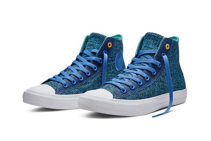 Converse Chuck Taylor All Star High Open Knit Blue 4