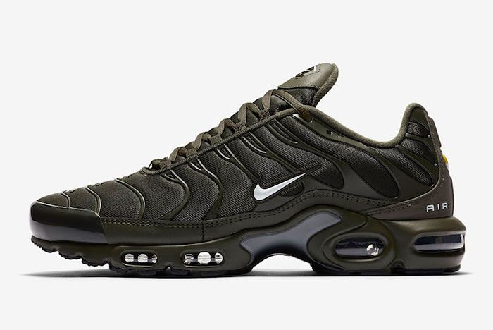 Nike Air Max Plus Olive Cu3454 300 Lateral