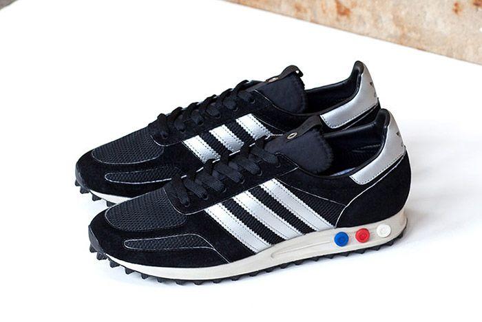 Adidas Consortium La Trainer Og Navy Silver 3