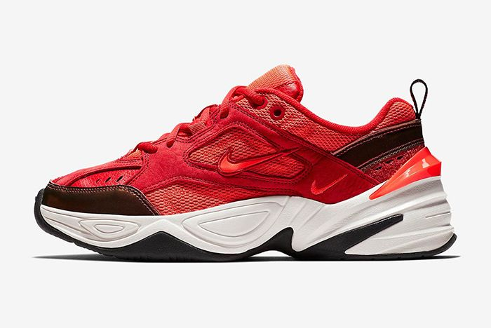 Nike M2K Tekno Red Suede 2