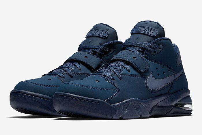 Nike Air Force Max Navy 5 Sneaker Freaker