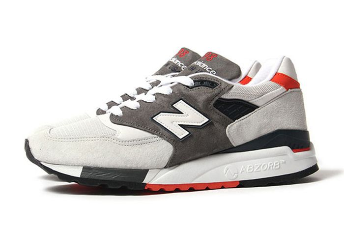 New Balance 998 Greyorange 2