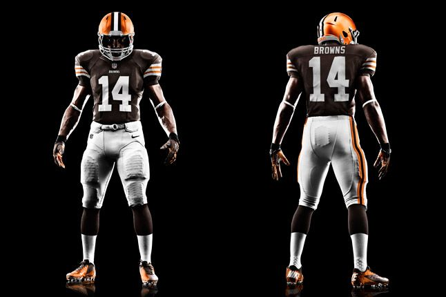 Cleveland Browns Uniform 1