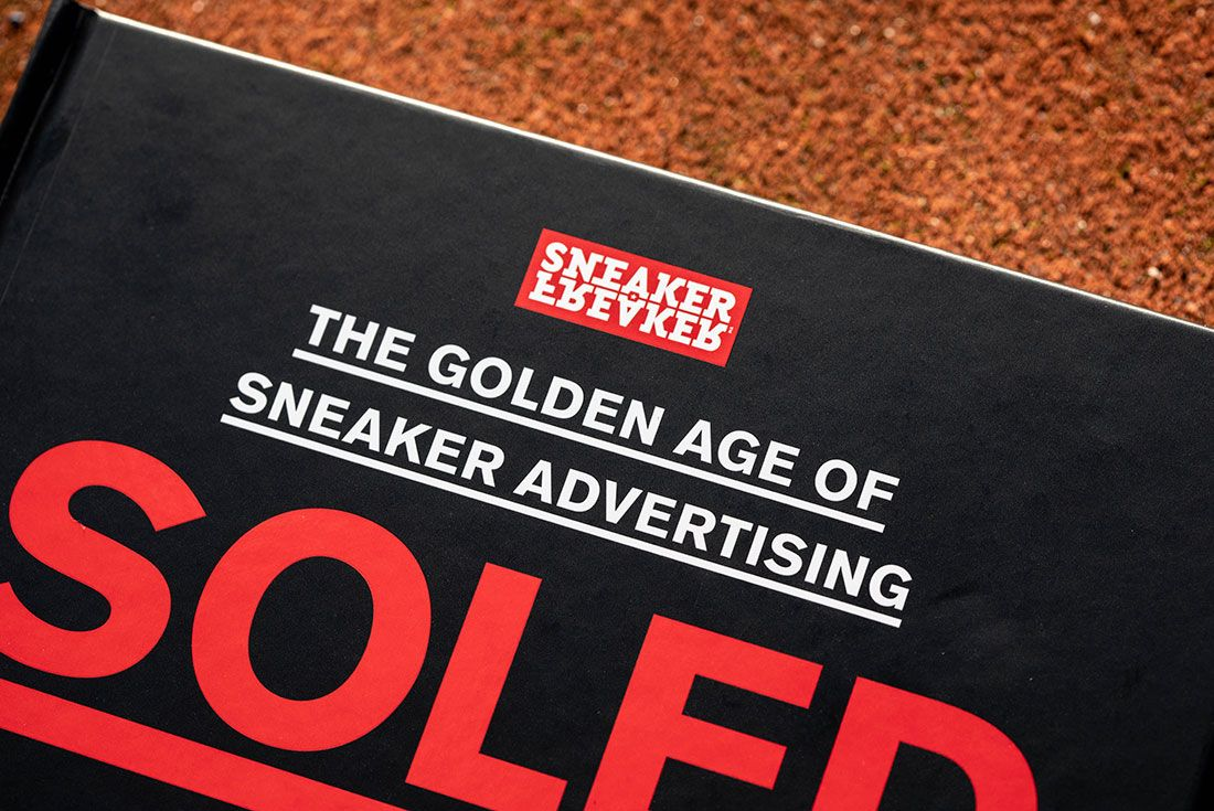 SOLED OUT Sneaker Freaker Book Trade Edition Front Cover Close