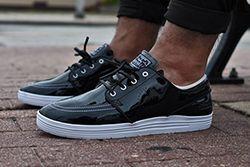 85 Ive2 X Nike Sb Linar Stefan Janoski Black White Thumb