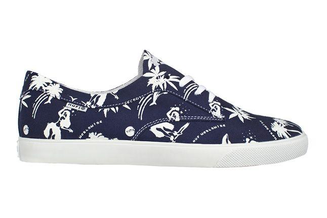 Huf Footwear Sutter Blue Hawaiian Single 1