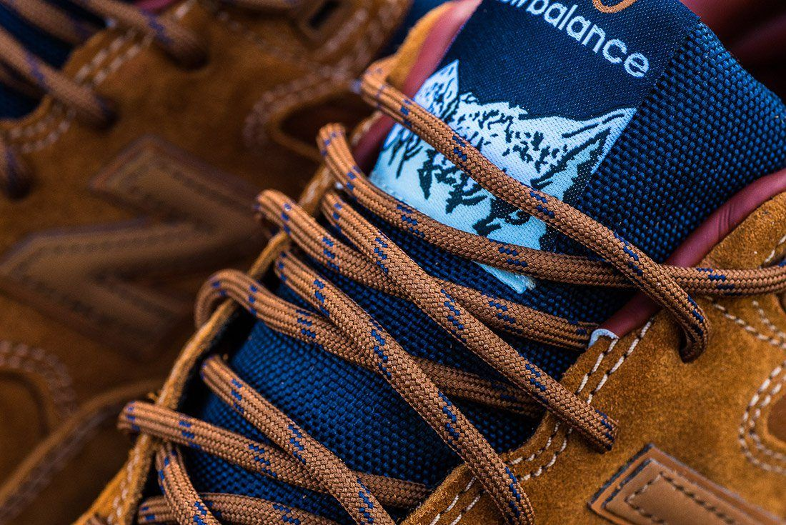 New Balance 580 Brown Leather 6