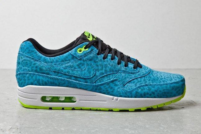 Nike Air Max 1 Fb Blue Leopard 1 1