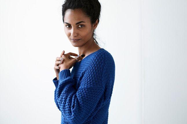 Adidas Originals Blue Spring Blue Ladies Sweater 1