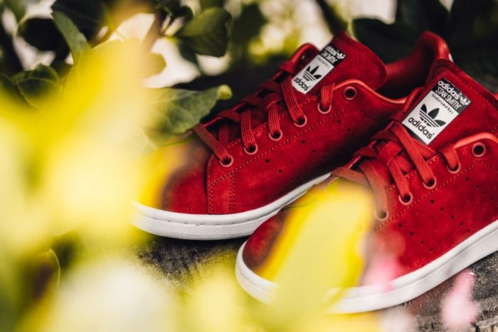 Adidas X Rita Ora Stan Smith Red Feature Lv 4 1
