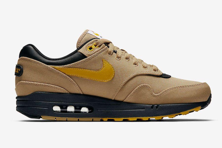 Nike Air Max 1 Premium Elemental Gold 875844 700 2