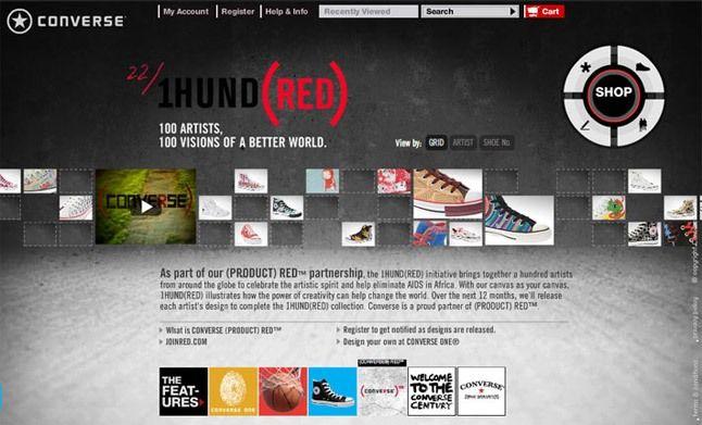 Converse Red Website 1