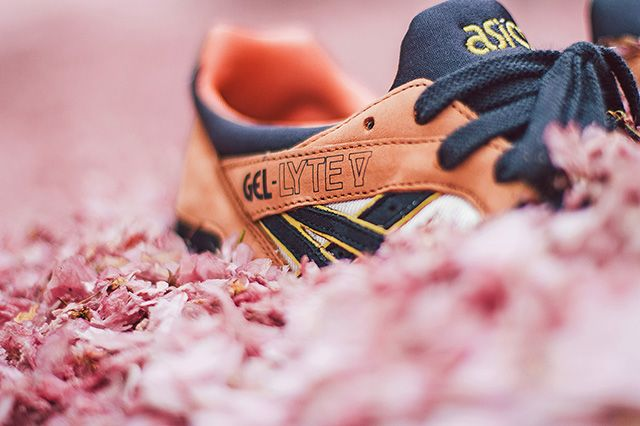 Ubiq X Asics Gel Lyte V Midnight Bloom 3