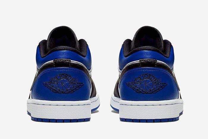 Air Jordan 1 Low Royal Cq9446 400 Heels