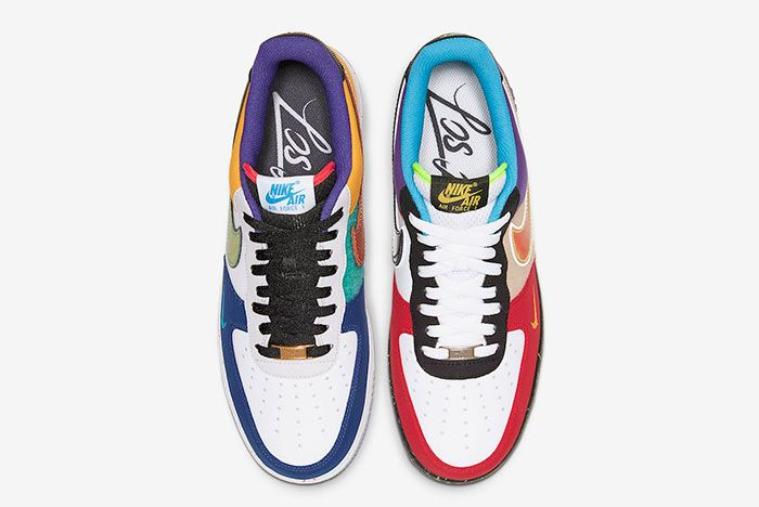 Nike Air Force 1 Low What The La Ct1117 100 Top