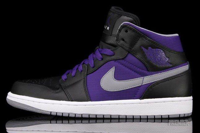 Air Jordan Phat Purple 1