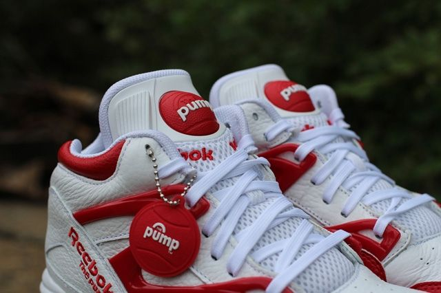 Reebok Pump Omni Lite White Red 4