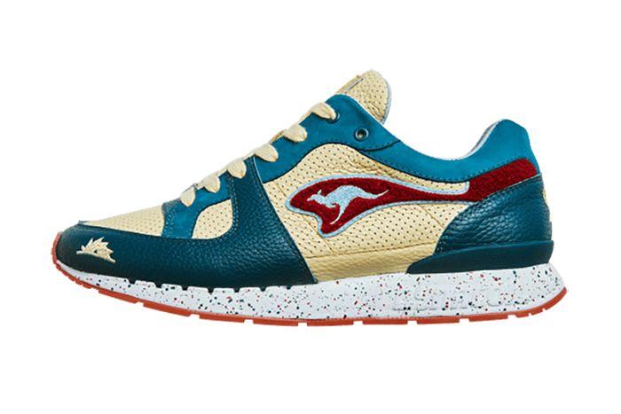 Sneakerbaas Kangaroos Coil R1 Turtle 4711T 000 8201 Release Date Lateral