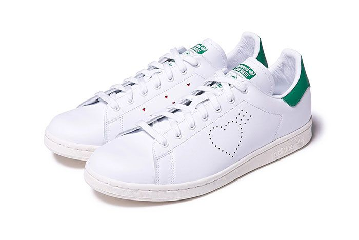 Human Made Adidas Stan Smith Front Angle