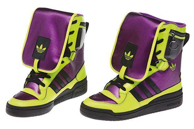 Adidas Originals Jeremy Scott Purp Green